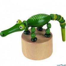 Mačkací figurka - Krokodýl (Detoa)