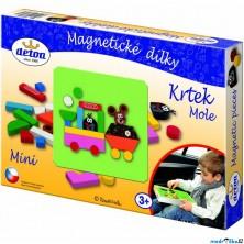 Puzzle magnetické - Krtek MINI (Detoa)