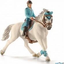 Schleich - Kůň s jezdcem, Žokej na koni