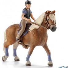 Schleich - Kůň s jezdcem, Rekreační jezdec na koni