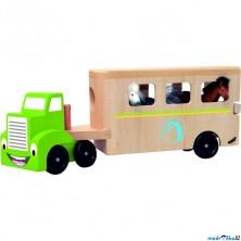 Auto - Tahač s návěsem pro přepravu koní (Woody)