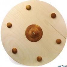 Dětská zbraň - Štít Vikingský dřevěný (Legler)