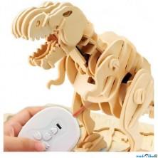 Stavebnice robotická - Dinosaurus Tyranosaurus Rex, Velký