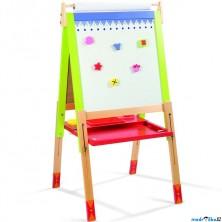 Kreslící tabule - Výškově nastavitelná, 91 až 126cm, J07582 (Janod)