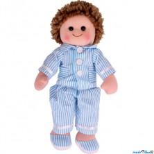 Panenka hadrová - 34cm, Arthur v pyžamu (Bigjigs)