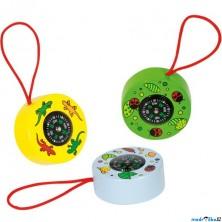 Dětský kompas - Zvířátka, 1ks (Goki)