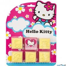 Razítka dřevěná - Hello Kitty, 5+1 (Jiri Models)