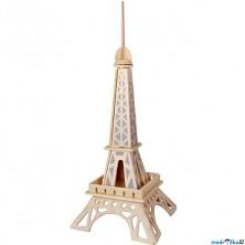 3D Puzzle přírodní - Eiffelova věž menší