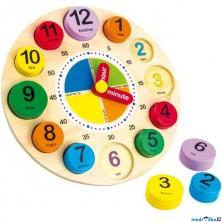 Puzzle hodiny - Angličtina, výuka hodin (Legler)