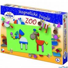 Puzzle magnetické - ZOO (Detoa)