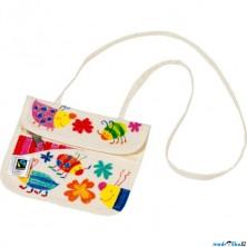 Malování na textil - Peněženka bavlněná (Goki)