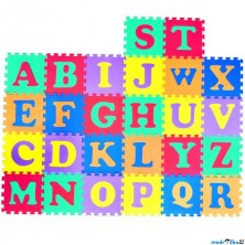 Puzzle pěnové - 30x30cm, 26ks, Abeceda (HM Studio)