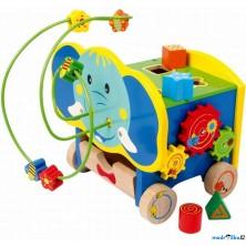 Motorická kostka - Aktivní kostka slon (Legler)