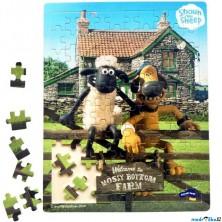 Puzzle na desce - Ovečka Shaun, 100ks (Legler)