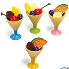 Kuchyň - Zmrzlinový set 4 pohárů, 20ks (Legler)