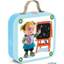Puzzle z kartónu - Lisa učitelkou, 43 dílků (Janod)