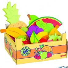 Dekorace prodejny - Krabice s ovocem, 15ks (Goki)