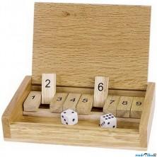 Společenská hra - Shut the box, Šance (Goki)