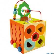 Motorická kostka - Didaktická kostka barevná (Bino)