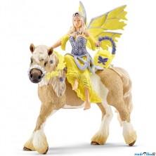 Schleich - Elf na koni, Elfí víla Sera ve slavnostním oděvu