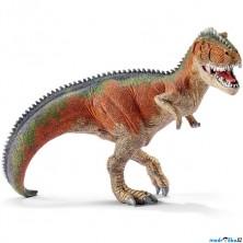 Schleich - Dinosaurus, Giganotosaurus oranžový