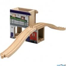 Vláčkodráha budovy - Nákladní stanice (Maxim)