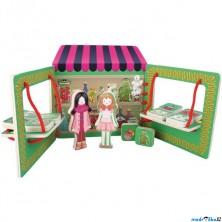 Prodejna - Stolní obchůdek, Zeleninový stánek (Legler)