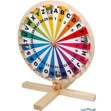 Společenská hra - Dřevěné kolo štěstí (Legler)