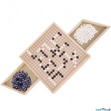 Společenská hra - Go, stolní hra (Goki)