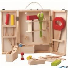 Malý kutil - Kufřík s dřevěným nářadím (Woody)