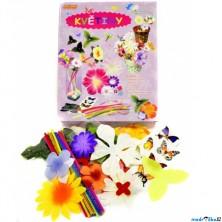 Výtvarná sada box - Květiny, 20 květin