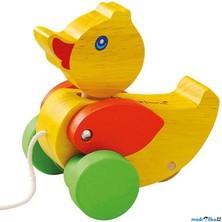 Tahací hračka - Kachnička žlutá FSC (Mertens)