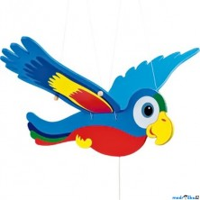 Závěsná hračka - Papoušek Ara velký (Legler)