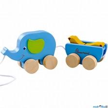 Tahací hračka - Slon s banánem FSC (Mertens)