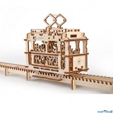 3D mechanický model - Tramvaj (Ugears)