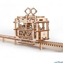 3D mechanický model - Tramvaj (Ugears)
