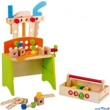 Malý kutil - Pracovní stůl, Deluxe (Legler)