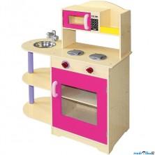 Kuchyň - Dětská kuchyňka s mikrovlnnou troubou (Bino)