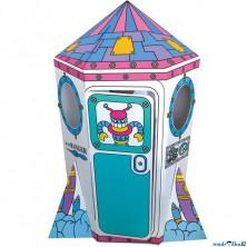 Kartonový domek - Raketa (Bino)