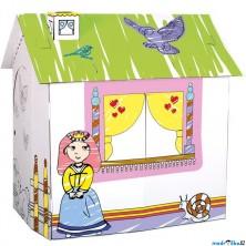 Kartonový domek - Domek pro princeznu (Bino)