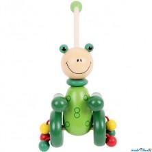 Jezdík na tyči - Žabka (Bigjigs)