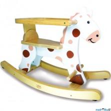 Houpadlo - Houpací kůň s ohrádkou, bílý (Vilac)