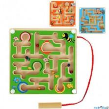 Motorický labyrint - Magnetická hra malá, 1ks (Woody)