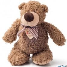 Lumpin - Medvěd Denis s mašlí, malý, 22cm