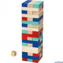 Jenga barevná - Společenská hra LATTJO (Ikea)