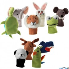 Prstoví maňásci - Zvířátka TITTA DJUR, 10ks (Ikea)