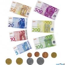 Prodejna - Dětské euro peníze, 116ks (Goki)