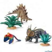 Schleich - Dinosaurus set, Zvířata a rostliny