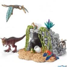 Schleich - Dinosaurus set, Dinosauři v jeskyni