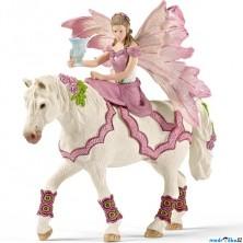 Schleich - Elf na koni, Elfí víla Feya ve slavnostním oděvu